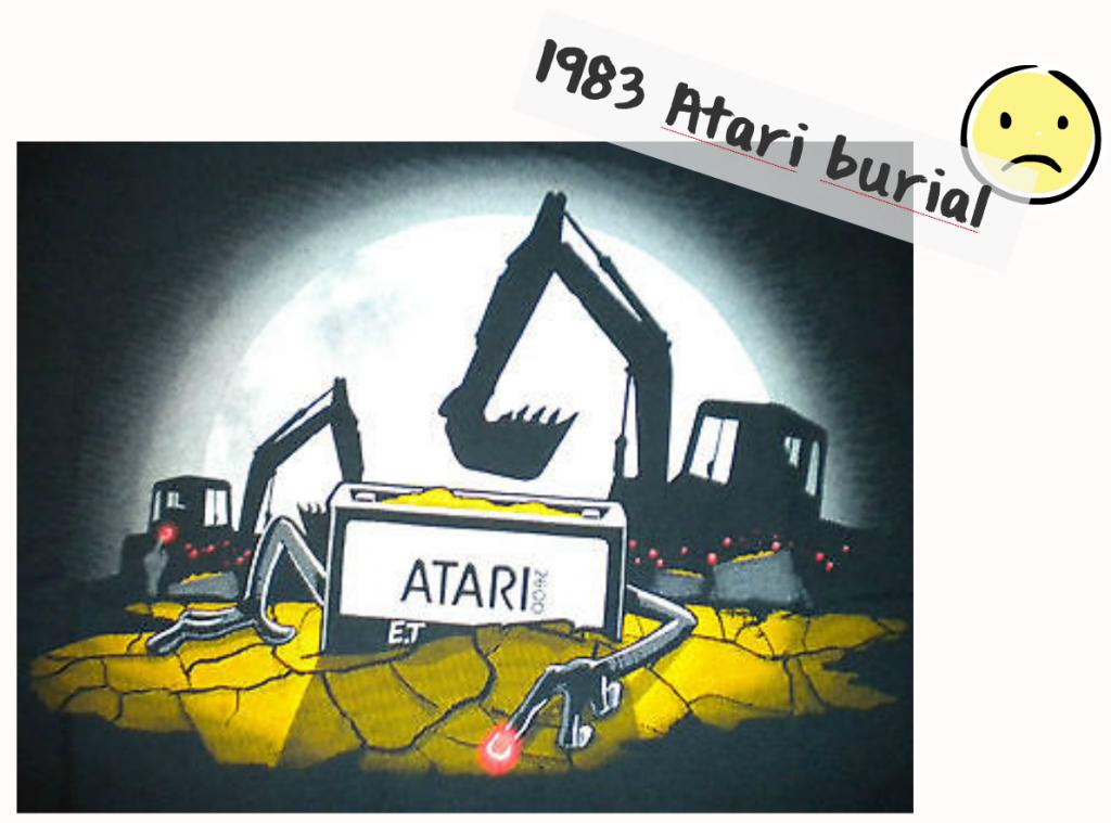 atari burial